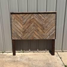 ideas wood headboard plans inspirations rustic wooden headboard