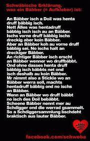 schwäbisch sprüche die besten 25 schwäbisch ideen auf bayrischer dialekt