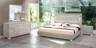 modrest ethan italian modern grey bedroom set star modern furniture