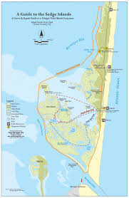 New Jersey Map Island Beach State Park Canoe And Kayak Map Barnegat Bay Nj