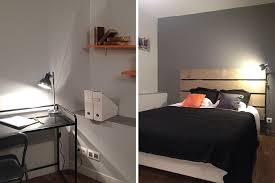 chambre à coucher ado garçon chambre adolescent garcon et gris idées décoration