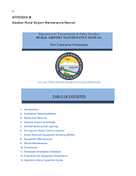 appendix m alaskan rural airport maintenance manual airside