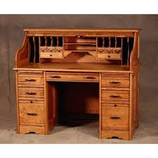 Value Of Antique Roll Top Desk Desk Deluxe Amish Roll Top Desk With Optional Top Drawers Solid