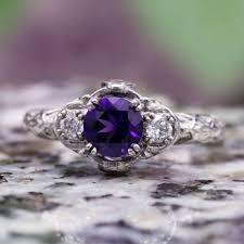 amethyst stone rings images Amethyst engagement rings jpg