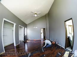 installing hardwood floors in our master bedroom part 2