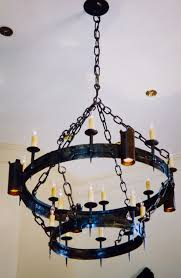 Tudor Chandelier Lighting Lankton Metal Design
