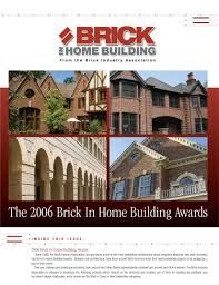 Home Building by Brick In Home Building