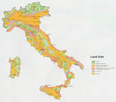 Maps Of Italy Detailed Map by Italy Land Use Map 1972 U2022 Mapsof Net