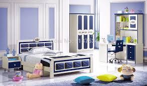 bedroom set with desk 6622 factory wholesale price wooden furniture set colorful bedroom
