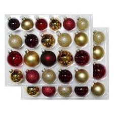 40ct fashion shatterproof ornament set wondershop