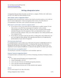 resignation letter sle 2 weeks notice images letter format