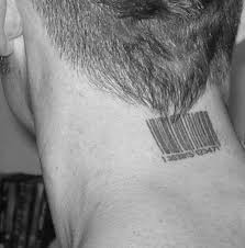 neck barcode tattoo meaning for men tattoomagz