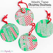 washi ornaments that can make
