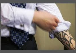 is it wrong for employers to have a policy against visible tattoos