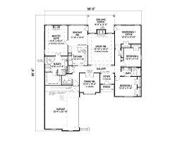 one story house floor plans stunning design ideas one story house plans with measurements 5