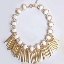 statement necklace white images Boho and statement necklaces pearlsandrocks pearls and rocks jpg