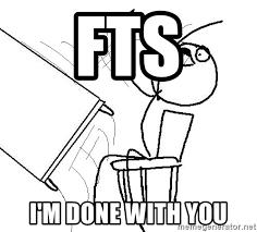 Table Flip Meme - fts i m done with you table flip meme generator
