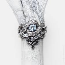 dragon engagement rings images Blue dragon ring set topaz moonstone engagement ring etsy jpg
