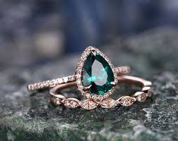 and emerald engagement rings emerald engagement ring etsy