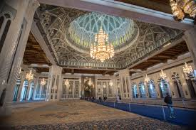 Sultan Qaboos Grand Mosque Chandelier Sultan Qaboos Grand Mosque In Muscat Oman Retrospective