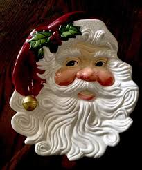 vintage fitz floyd classics jolly ole st nick santa canape