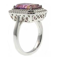 18ct white gold diamond amethyst sheldon bloomfield 18ct white gold 5 10ct ametrine u0026 0 51ct