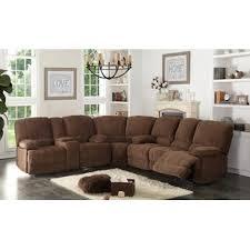 Sectional Sofa Reclining Reclining Sectionals You Ll Wayfair