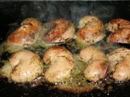 escargot cuisiné rognons d agneaux au beurre d escargot à la plancha recette ptitchef
