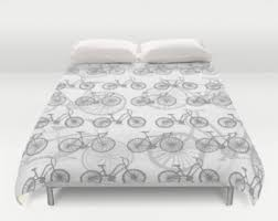 What Size Is King Size Duvet Cover Bicycle Bedding Etsy