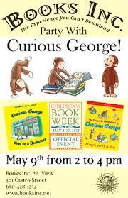 Curious George Costume Curious George Costume Party At Books Inc Mountain View Books