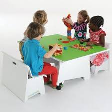 kids play table with storage childs activity table activity table 2 chair set childrens play