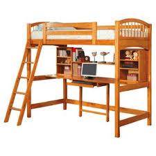 Loft Bed With Computer Desk Bunk Beds U0026 Loft Beds With Desks Wayfair