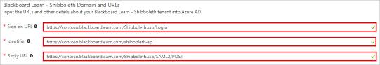 Shibboleth Login Tutorial Azure Active Directory Integration With Blackboard Learn