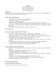 sle resume for phlebotomy with no experience phlebotomy resume no experience sales no experience lewesmr