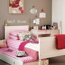 Pink And Black Polka Dot Bedding Bedroom Inspiring Image Of Teen Bedroom Decoration Using