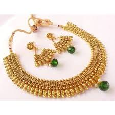 fashion jewellery necklace sets images Designer imitation jewellery set jevar set jewelry set nasir jpg