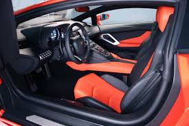 lamborghini aventador interior 2012 lamborghini aventador sold out before its debut