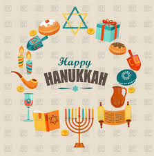 happy hanukkah signs happy hanukkah card template or banner chanukah royalty free