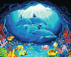 Paint By Number Mural by Compare Prices On Underwater Paint Online Shopping Buy Low Price