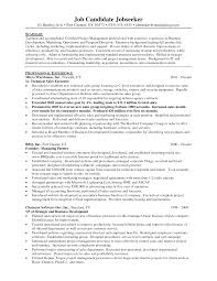 Sample Management Resumes by Sport Management Resume Free Resume Example And Writing Download