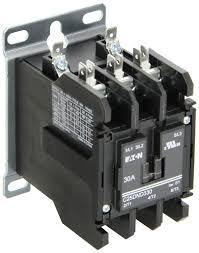eaton c25dnd330b definite purpose contactor 50mm 3 poles