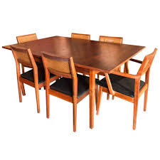 Dining Room Table With 8 Chairs by Jack Cartwright For Founders Furniture Mid Century Dining Table