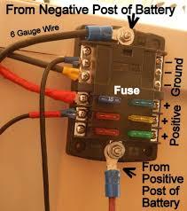 installing a 12 volt fuse block cheap rv living com