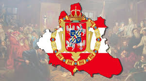 Poland Map Flag Polish Lithuanian Commonwealth 1619 Flag Map Speed Art Youtube