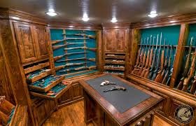 Built In Gun Cabinet Plans Gun Rooms U0026 Cabinetry U2014 Julian U0026 Sons Fine Woodworking