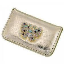 Bling Business Card Holder Metal Wallet Credit Card Holders U0026 Business Card Holders