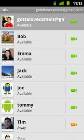 chat for android announces talk chat for android 2 3 4