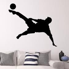 aliexpress com buy football soccer star shooting the ball sketch