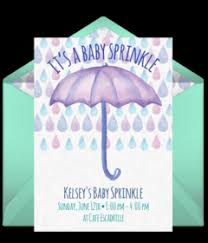 baby sprinkle free baby sprinkle online invitations punchbowl
