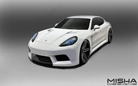 Porsche Cayenne 958 Body Kit - misha designs u2013 panamera body kit to be unveiled at sema show